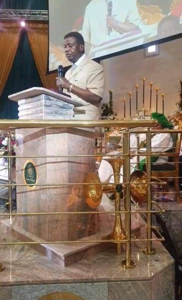 Why God Asked Me To Attend Dedication Of Prophetess Esther Ajayi's C & S Church ~ Pastor EA Adeboye